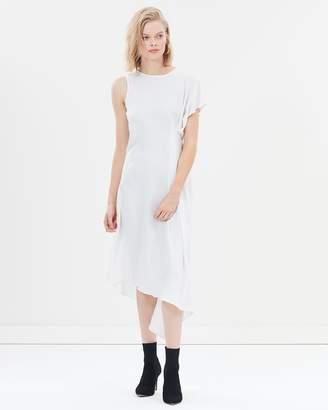 Warehouse Asymetric Sleeveless Dress