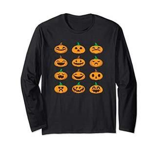 Pumpkin Emoji For Happy Halloween And Thanksgiving