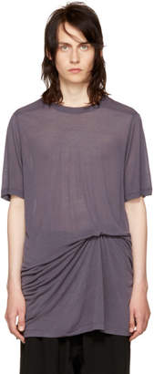 Rick Owens Purple Level T-Shirt