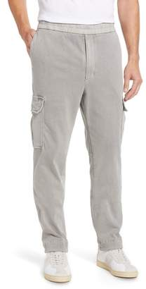James Perse Cotton Jersey Relaxed Fit Cargo Pants