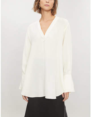 Joseph Eamon silk-crepe blouse