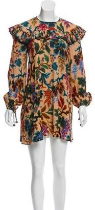 Philosophy di Lorenzo Serafini Long Sleeve Printed Dress