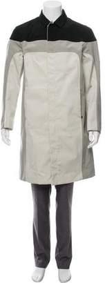 Prada Sport 2007 Nylon Colorblock Overcoat
