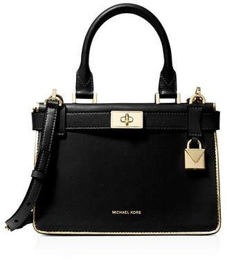 MICHAEL Michael Kors Tatiana Mini Leather Satchel