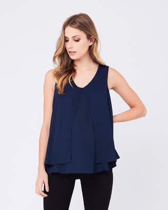 Ripe Maternity Split Front Nursing Top