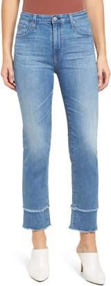 AG Jeans The Isabelle High Waist Straight Leg Jeans