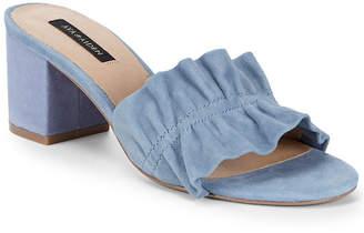 Ava & Aiden Block Heel Leather Sandal
