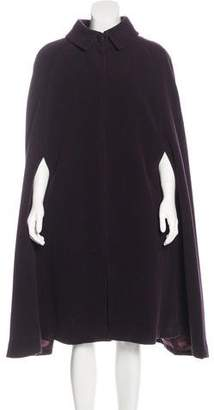 Courreges Vintage Wool Cape