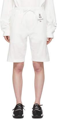 Y-3 Y 3 White New Classic Shorts