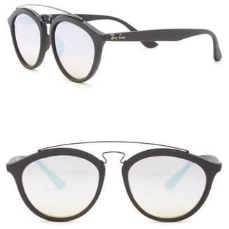 Ray-Ban 55mm Browbar Sunglasses