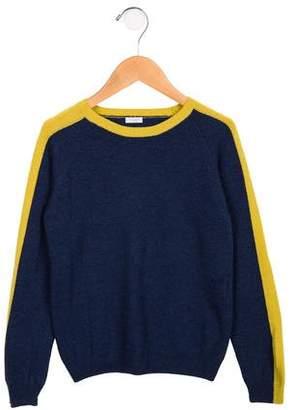 Il Gufo Boys' Wool-Blend Colorblock Sweater