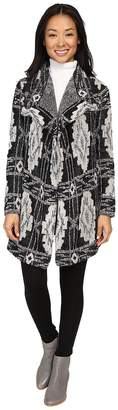 Lucky Brand Deco Cardigan Women's Sweater