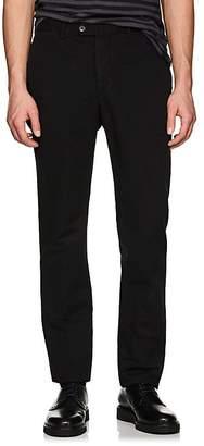 Officine Generale Men's Slub-Weave Cotton-Linen Pants