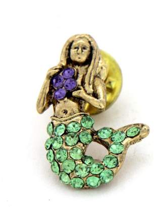 Ralph Lauren Spencer Mermaid Pin Gold