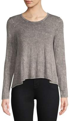Ppla Women's Long-Sleeve Heathered Top