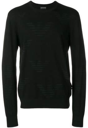 Emporio Armani round neck jumper
