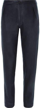 Camoshita Slim-Fit Pleated Wool-Blend Trousers