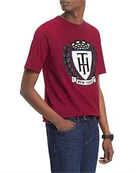 Tommy Hilfiger Th Crest Fashion Fit Tee