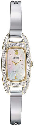 Seiko Womens Silver Tone Bracelet Watch-Sup388