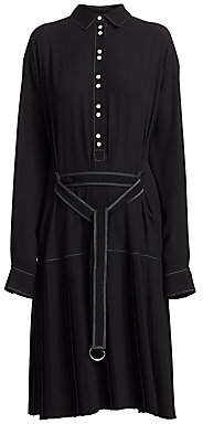 Proenza Schouler PSWL Women's Drop Waist Shirtdress