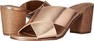 Kenneth Cole Reaction Women's Mass Away Mule X-Band Straps Heeled Sandal