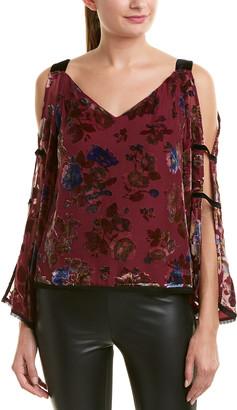 Nanette Lepore Silk-Blend Top