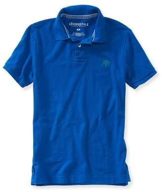 Aeropostale Mens A87 Uniform Rugby Polo Shirt Xs