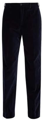Cobra S.c. - Classics Velvet Trousers - Mens - Navy