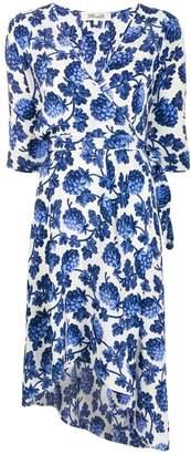 Diane von Furstenberg Eloise berry-print dress