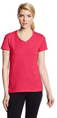 Champion Authentic Women`s Jersey V-Neck Tee
