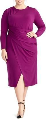 Rachel Roy Banded Waist Jersey Dress
