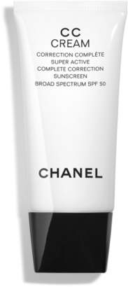 Chanel CC CREAM Super Active Complete Correction Broad Spectrum SPF 50