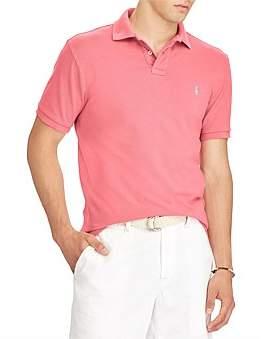 Polo Ralph Lauren Mens Custom Slim Fit Mesh Polo