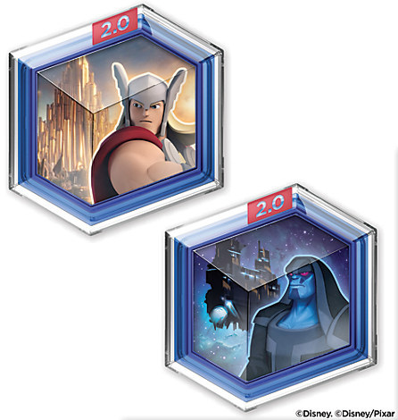 Disney Infinity: Marvel Super Heroes Toy Box Game Discs (2.0 Edition)