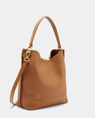 4efa4a20fd Ted Baker CANDIEE Soft grain hobo leather bag