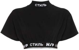 Heron Preston Logo Crop T-Shirt