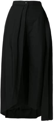 Milla flared loose trousers