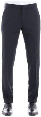 Prada Blue Wool Pants