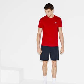 Lacoste Men's SPORT Miami Open Design Tech Jersey Tennis T-shirt