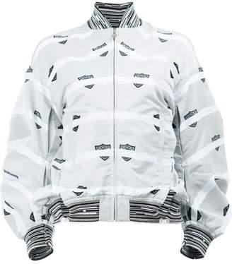 Anrealage printed bomber jacket