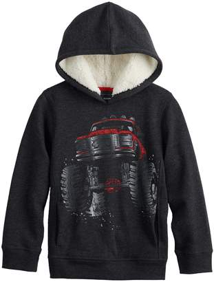 Sonoma Goods For Life Boys 4-12 SONOMA Goods for Life Sherpa Hooded Pullover Sweatshirt