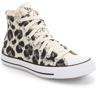 Women's Converse Chuck Taylor All Star Animal Print High Top Sneaker $59.95 thestylecure.com