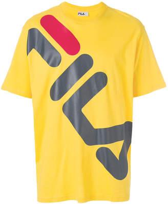 Fila logo patch T-shirt