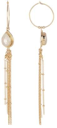 Chan Luu 18K Gold Vermeil Moonstone Earrings