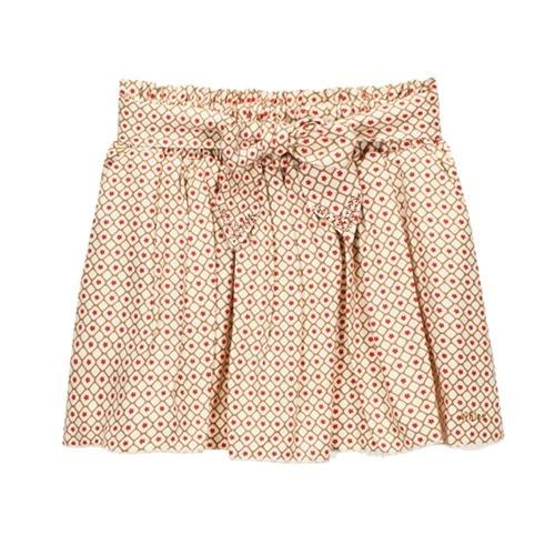 Chloe - Girl's Printed Woven Skirt