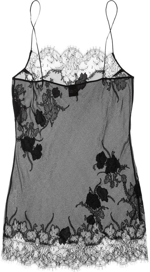 Carine Gilson Thème Tamara silk-mousseline chemise