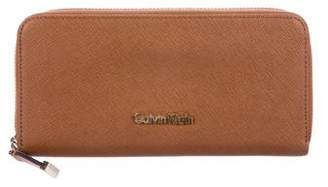 Calvin Klein Leather Continental Wallet