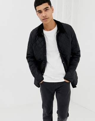 Barbour Heritage Liddesdale quilted jacket in black
