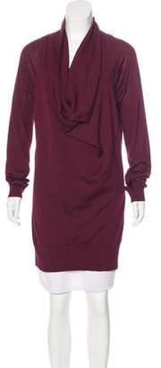 Malo Cashmere Longline Sweater