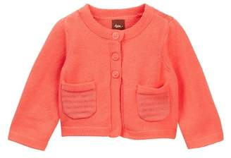 Tea Collection Bella Cardigan (Baby Girls)